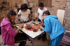 2013: making ceramic plates