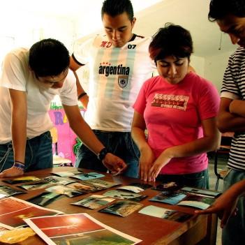 Etnography workshop led by Gaelyn Aguilar