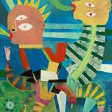 Ernesto Loza (MEXICO), Acrylic