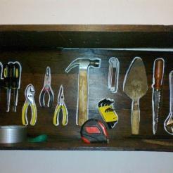 Basic tools at the hacienda.