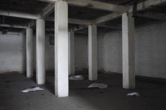 Olga Karyakina's work (RUSSIA) at La Blanca Flour Mill