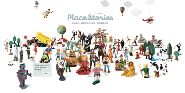 Placestories Online Collaboration Platform