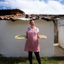 We make brick-oven Pizza!
