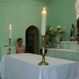 Project by Tina Dillman and Luis Guizar (USA) inside the Chapel.