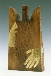 """From """"Our Mother Mary Found"""" sculpture and installation work, 2003."""