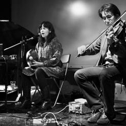 Jessika Kenney & Eyvind Kang Live at NK Projekt, Berlin, Germany, 2013.